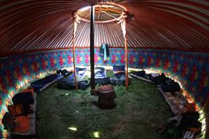 Inside Mongolian Ger