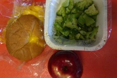 School Lunch Chicken