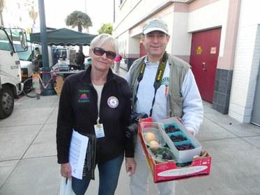 Laura Avery and David Karp