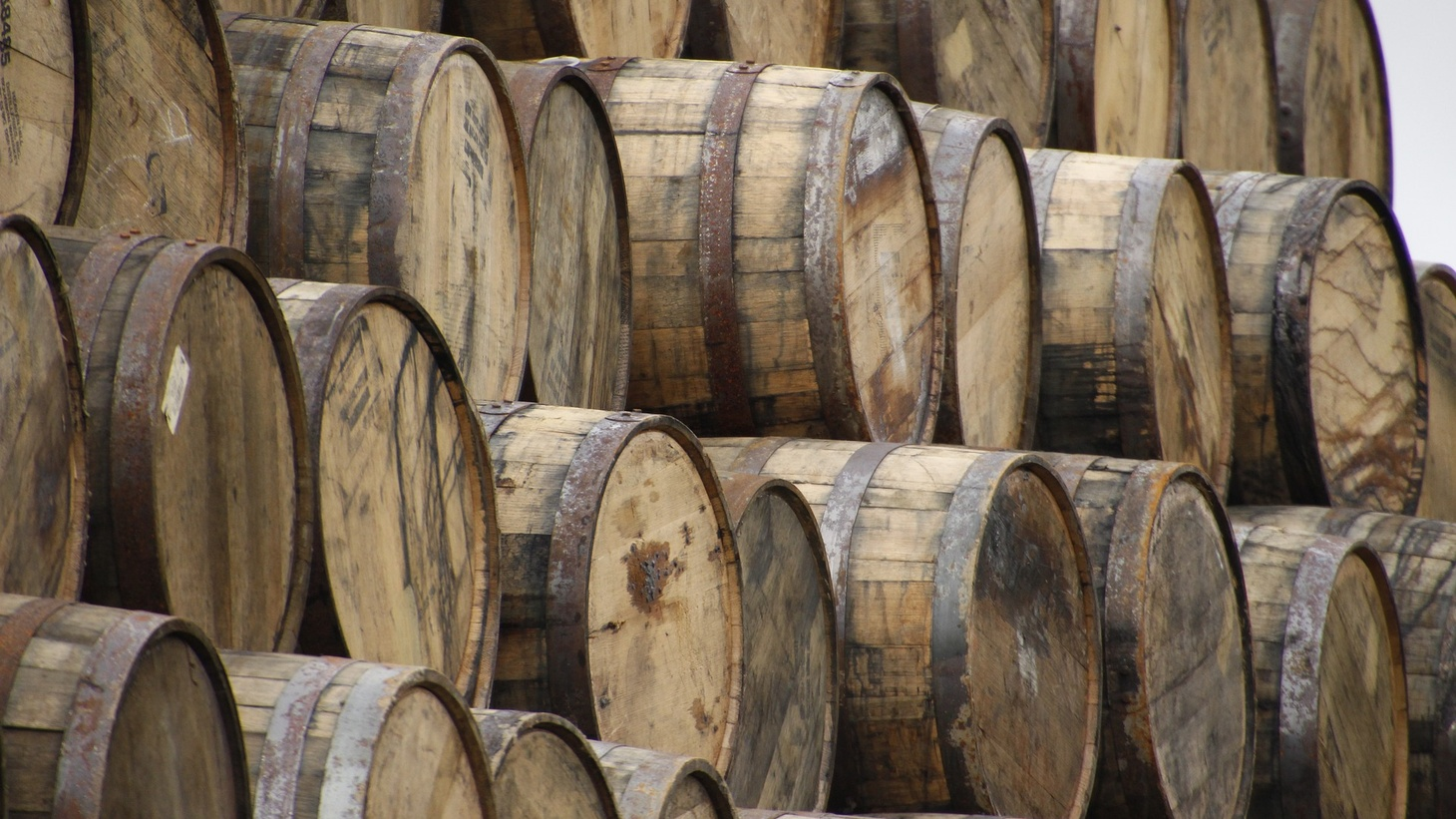 Wood biologist Artur Cisar-Erlach says that 80% of the flavor and color of whiskey comes directly from the wood barrel.