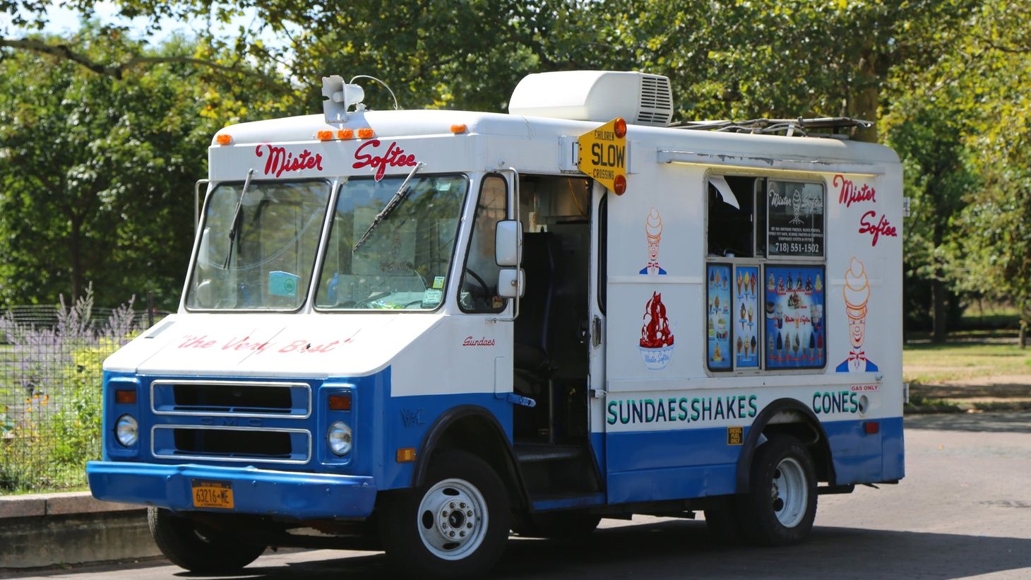 Ice cream trucks drove through neighborhoods across the country starting at the turn of the 20th century. Today most are franchised and the men and women driving them are documented by Eddie Schmidt.