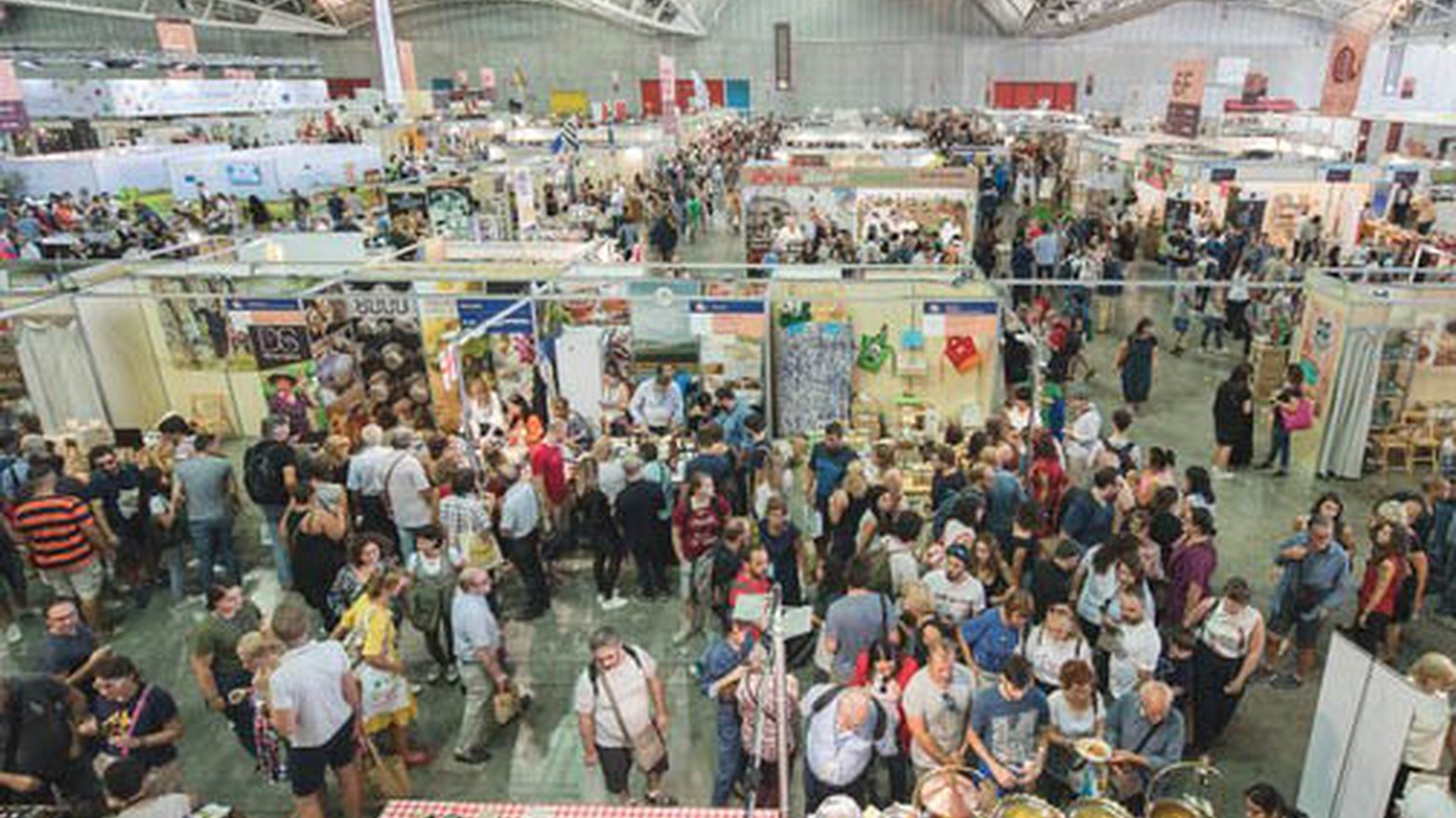 This year's Slow Food gathering in Turin, Italy.