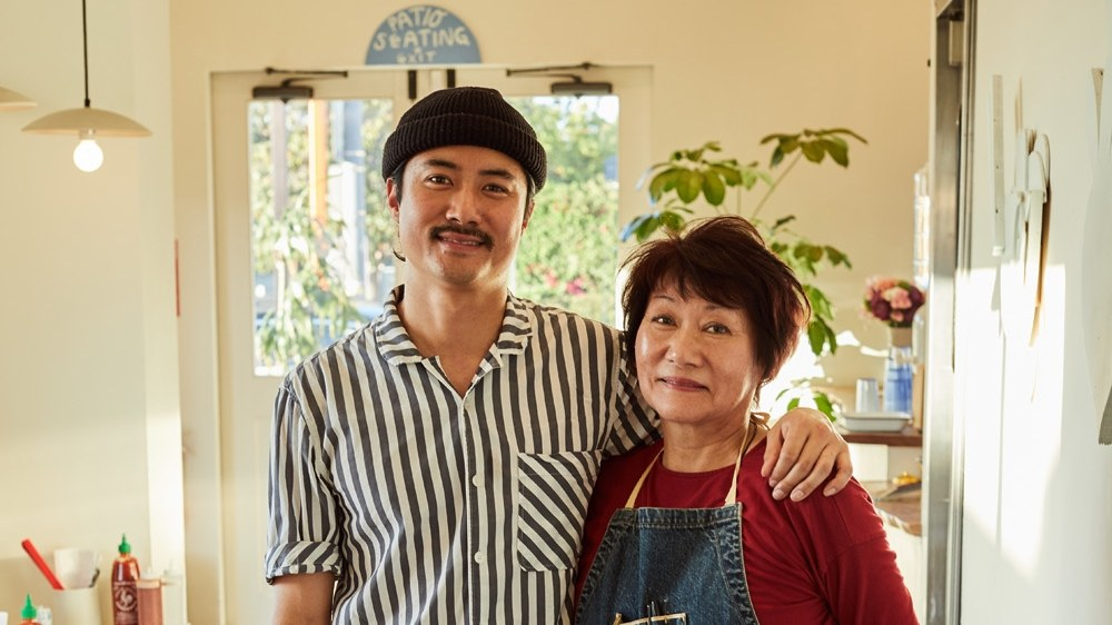 Owner Keegan Fong and Julie Chen Fong, aka Mama Fong, teamed up for Woon Kitchen, a small noodle pop-up turned culinary destination in Historic Filipinotown.