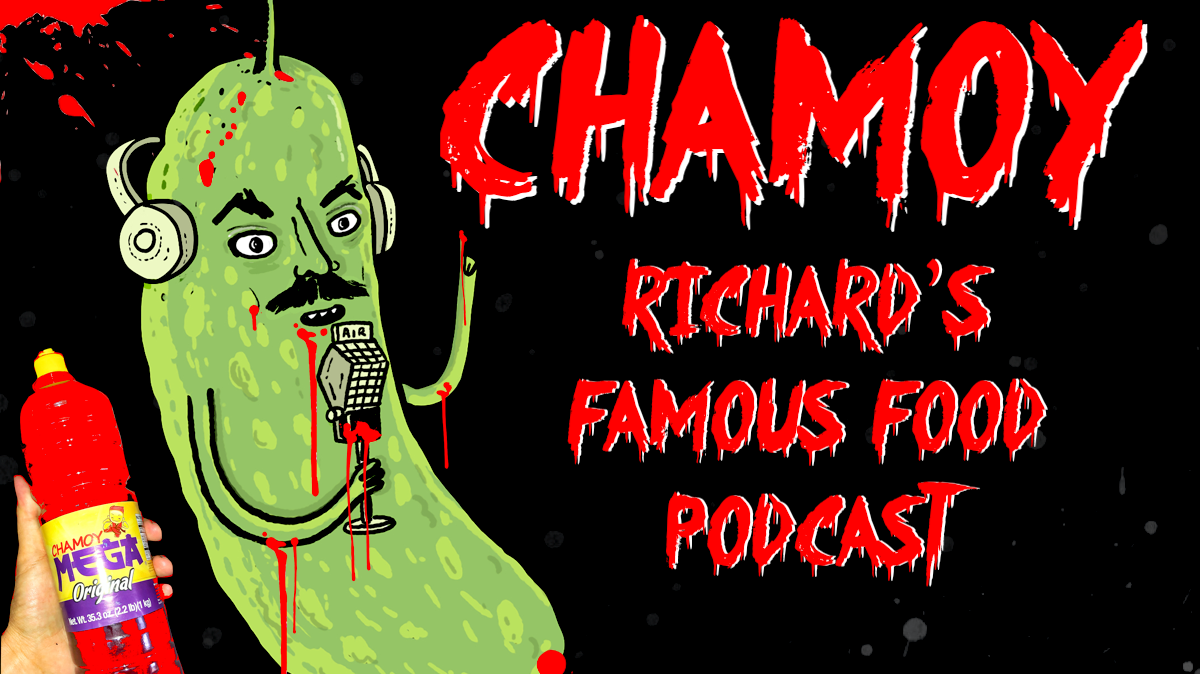 The most recent episode of Richard's Famous Food Podcast is all about chamoy, Mexico's fruity, sour, spicy flavor combination.
