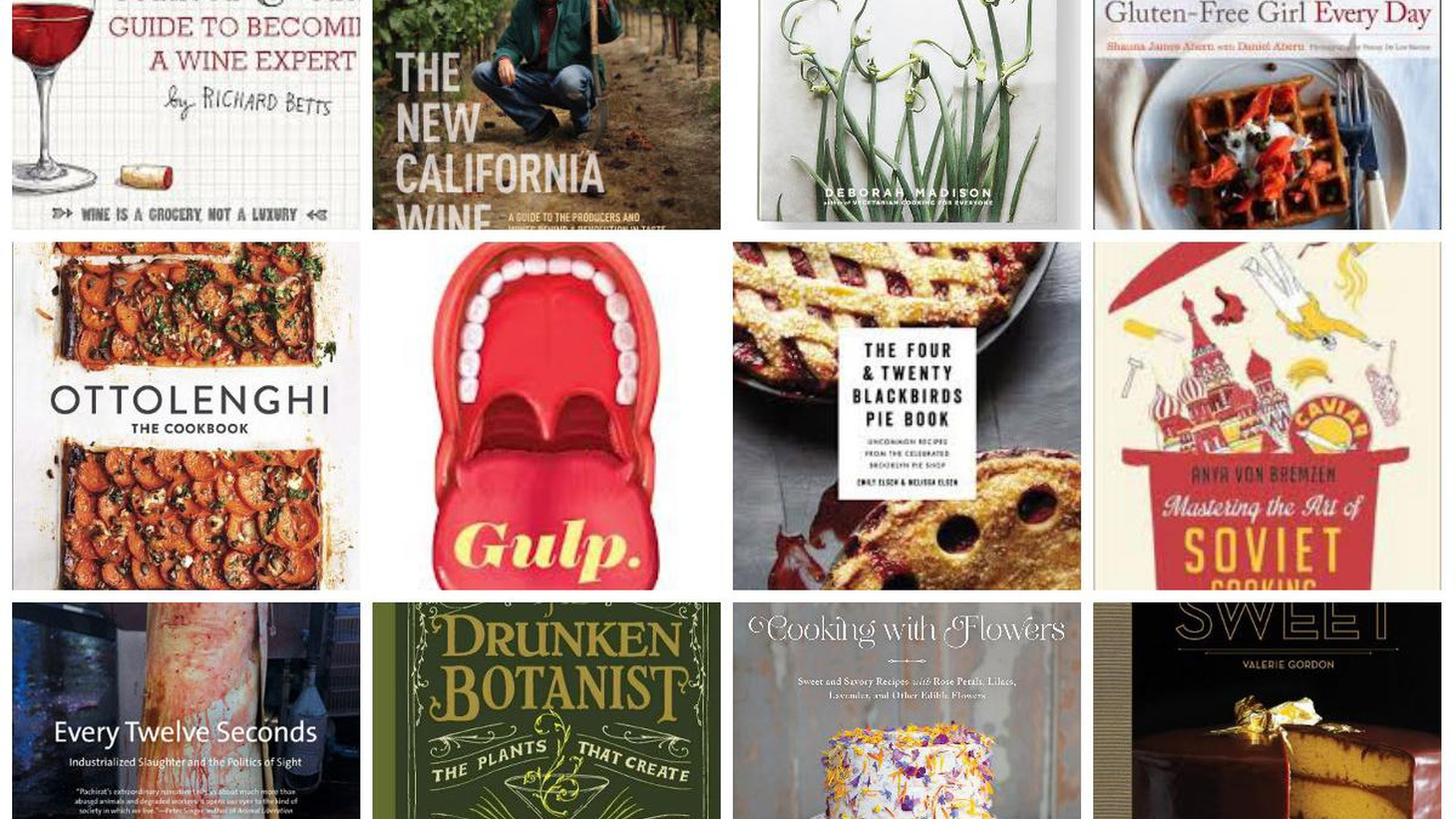 Evan discusses the holiday season cookbook avalanche, including some of the best books of the year.