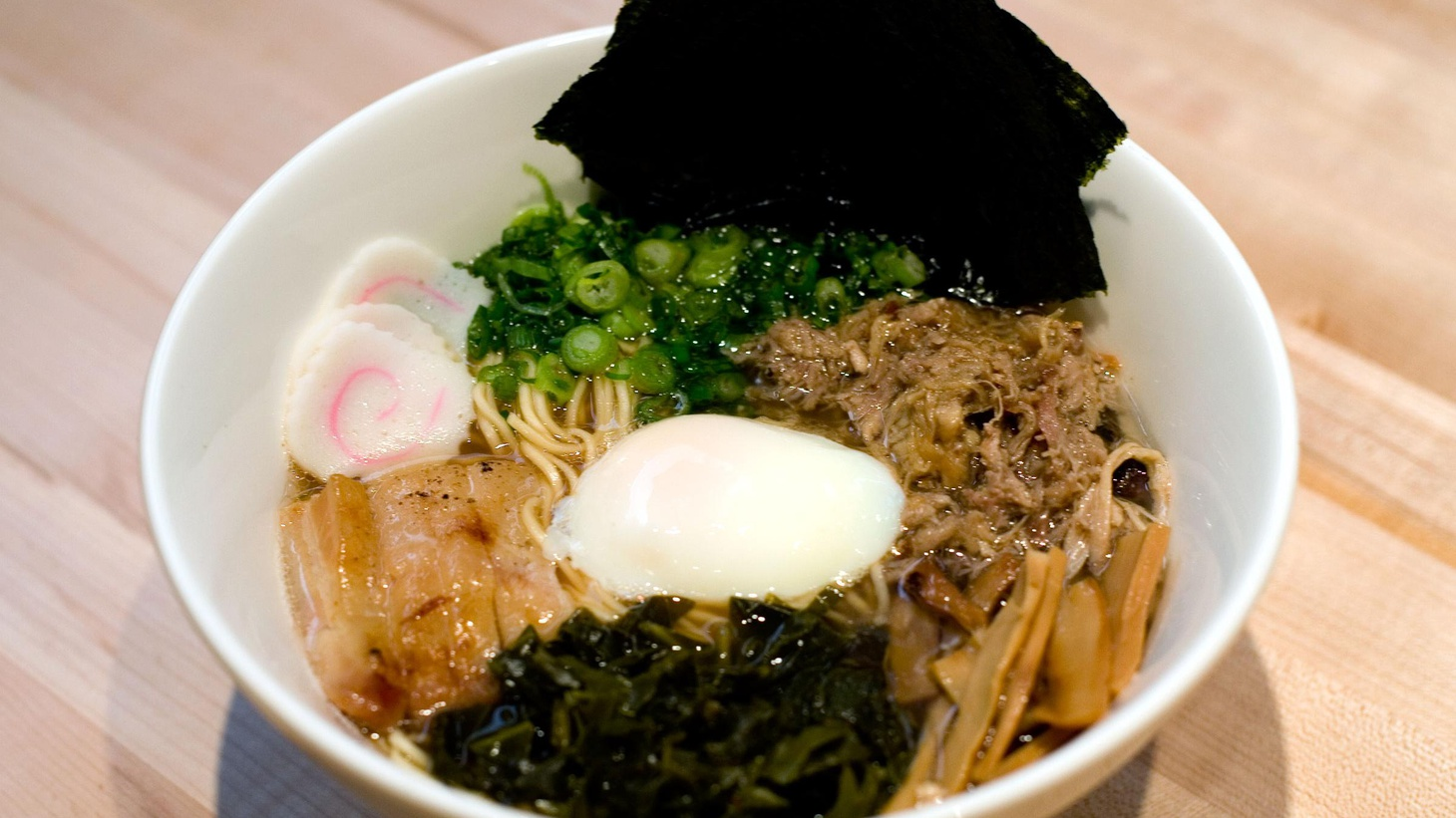 A ramen aficionado's history lesson on the popular noodle, a mother-in-law's 21-year-old kimchi recipe goes to New York, and a doctor on how vinegar can save your life.