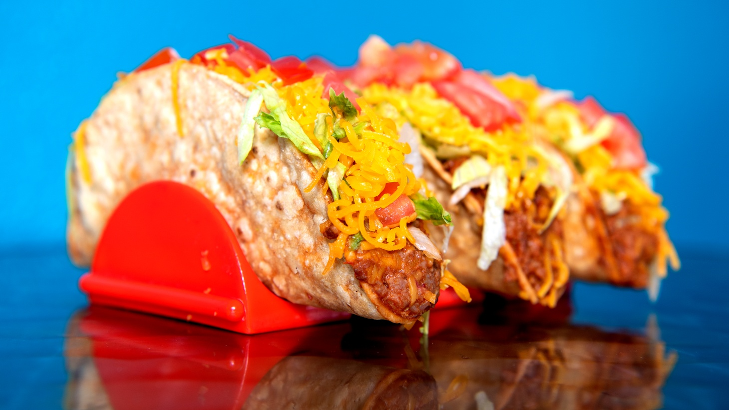 Naugles' original beef taco.