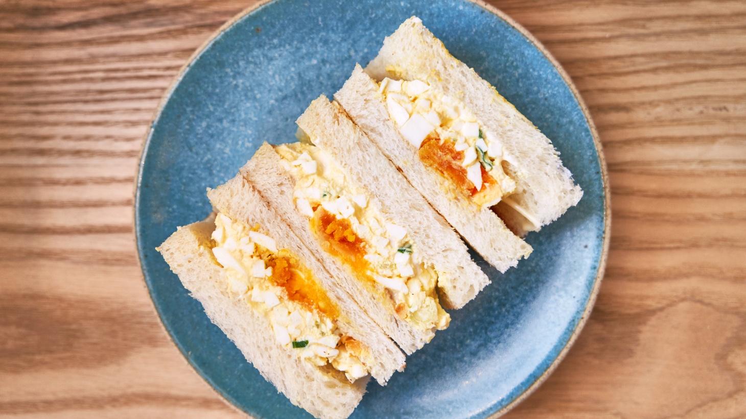 Konbi egg salad sando.