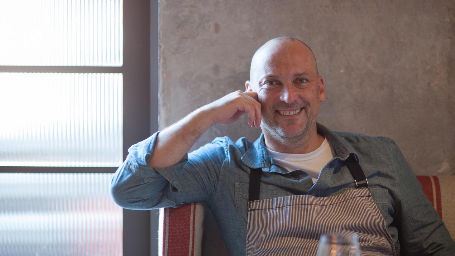 Rossoblu's chef Steve Samson.