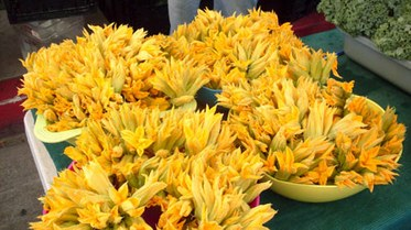 South Central Farmers' Squash Blossoms