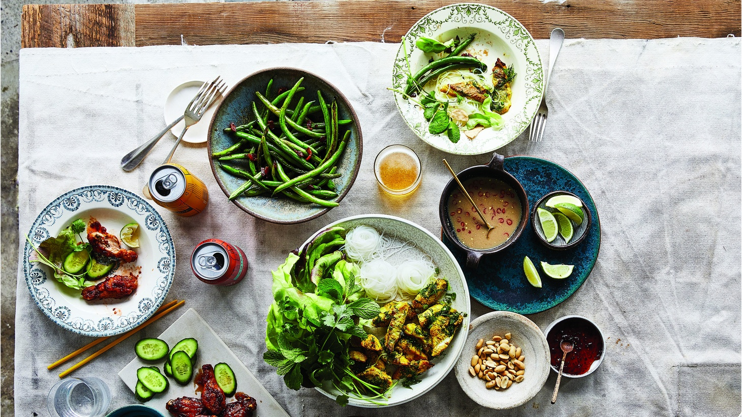 """Excerpt """"Vietnamese Food Any Day: Simple Recipes for True, Fresh Flavors"""" by Andrea Nguyen."""