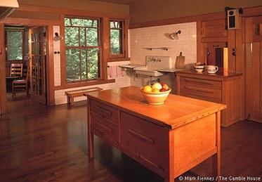 Gamble House Kitchen