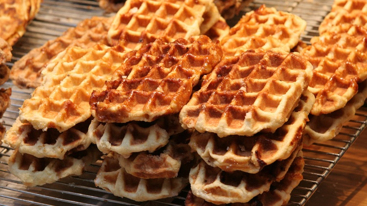 What makes for the perfect waffle? According to contributor   Gideon Brower  's longtime friend Jack, it's a combination of color, texture, and—tanginess?