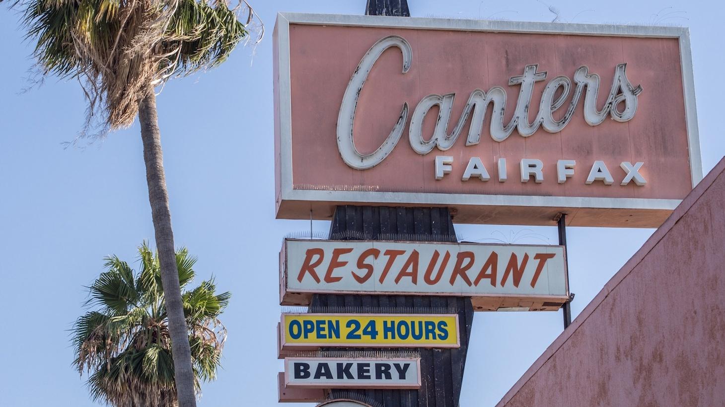 Canter's Deli, Los Angeles.