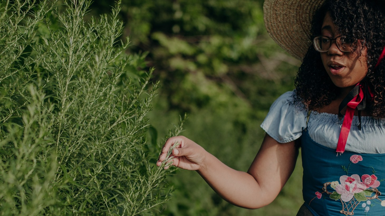 """""""When you can identify things in nature, you can respect it more,"""" says Alexis Nikole Nelson aka the Black Forager."""