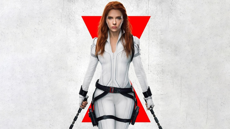 "The Marvel movie ""Black Widow"" was set to be the first big movie to premiere exclusively in theaters once they reopened."