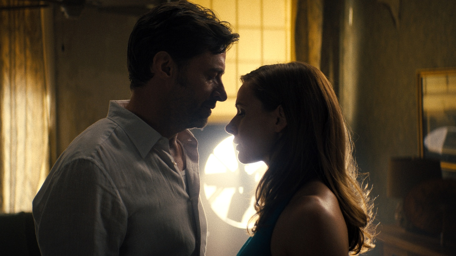 """Hugh Jackman and Rebecca Ferguson star in """"Reminiscence."""" The movie comes out this weekend and is part of the WarnerMedia 2021 film slate that opens in theaters and streams on HBO Max the same day."""
