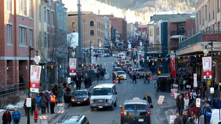 The Sundance Film Festival kicked off this week, but there will be no crowded screenings in Park City movie theaters.