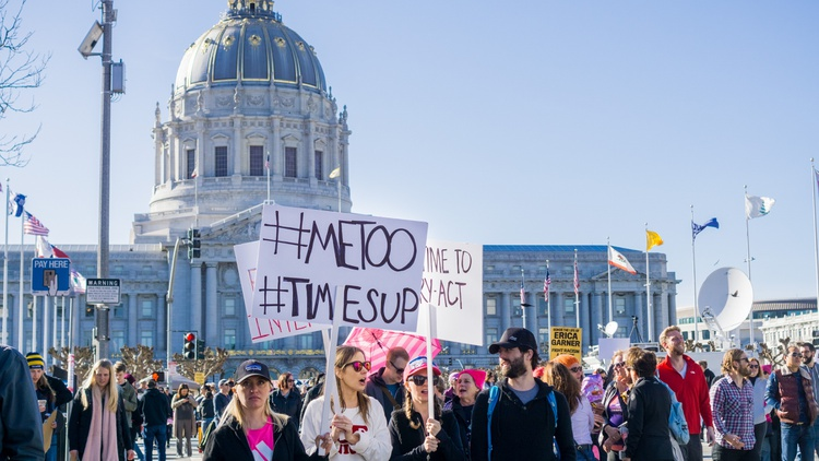 Formed in the wake of the #MeToo movement, the Time's Up organization brought together many high-profile Hollywood women to fight workplace gender discrimination, but the nonprofit has…