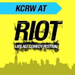KCRW<br>AT<br>RIOT<br>LA