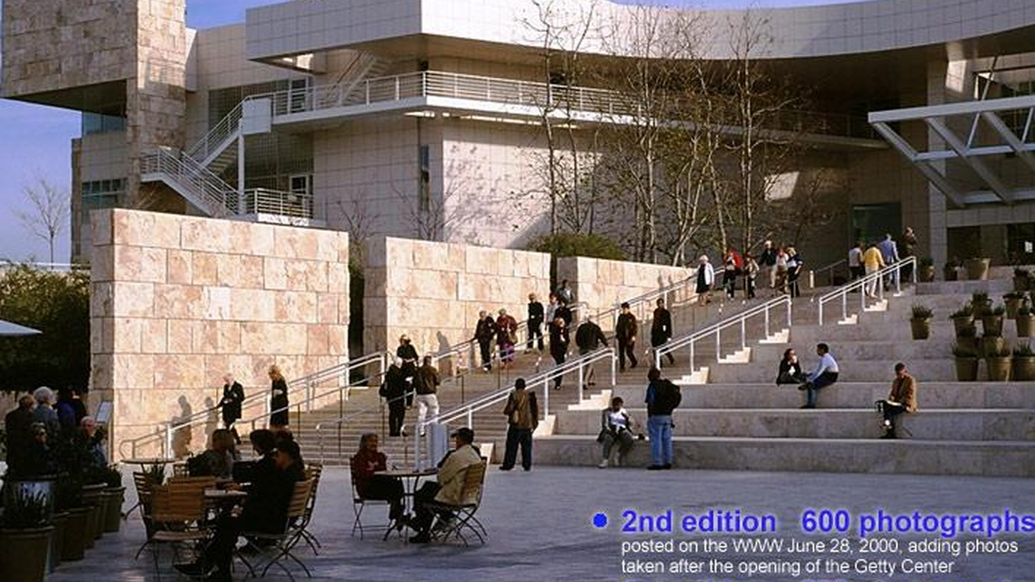 The Getty Museum has become an important visual touchstone of Los Angeles from its perch on a ridgeline of the Santa Monica Mountains, overlooking the Westside where the San Diego Freeway rolls down out of the hills...