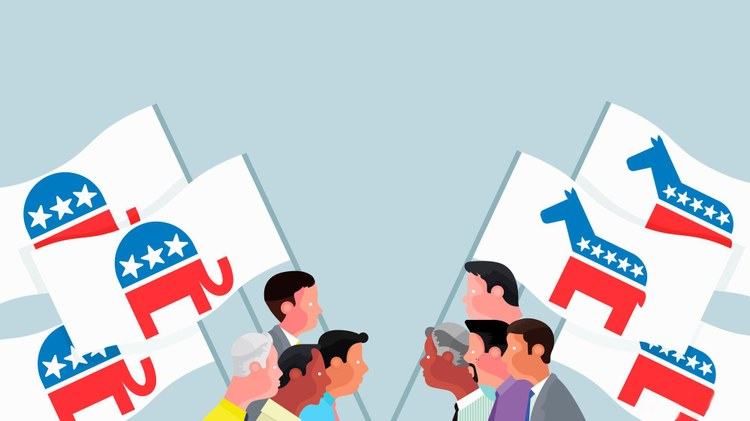 Americans today are deeply divided politically and even with an election around the corner that's unlikely to change anytime soon. So what's the solution to bridging the gap?