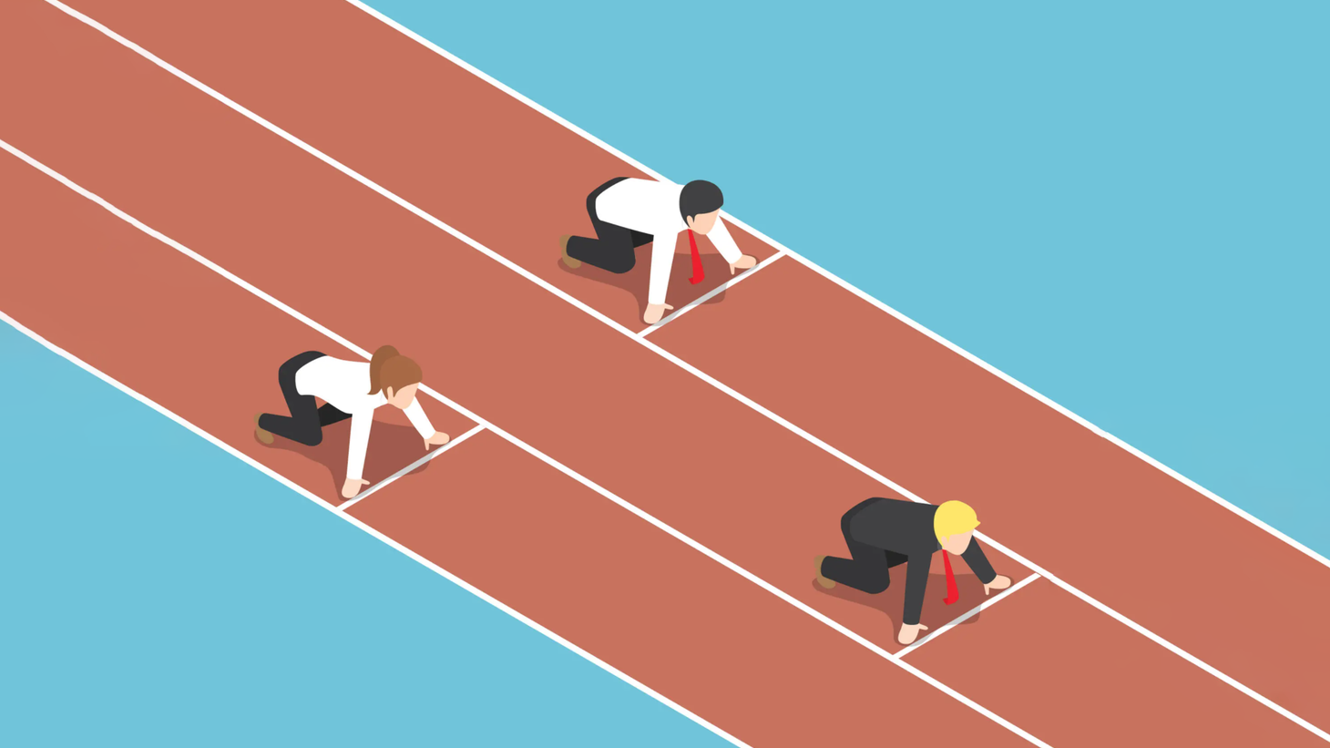 Is meritocracy based largely on luck? How much does education actually play a role?