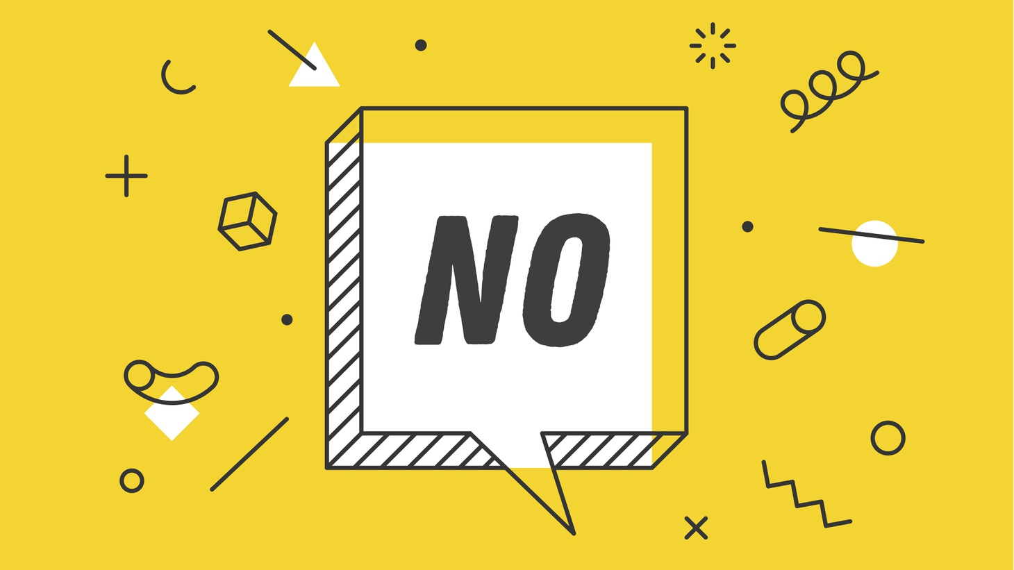 """Vanessa Patrick explains why saying """"no"""" is so difficult, but why learning the language of refusal can have a huge benefit towards living a more fulfilling life."""