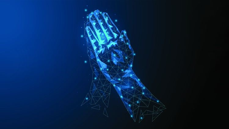 """Host Jonathan Bastian talks with Meghan O'Gieblyn , author of """" God, Human, Animal, Machine: Technology, Metaphor, and the Search for Meaning """" about how advanced AI technologies are…"""