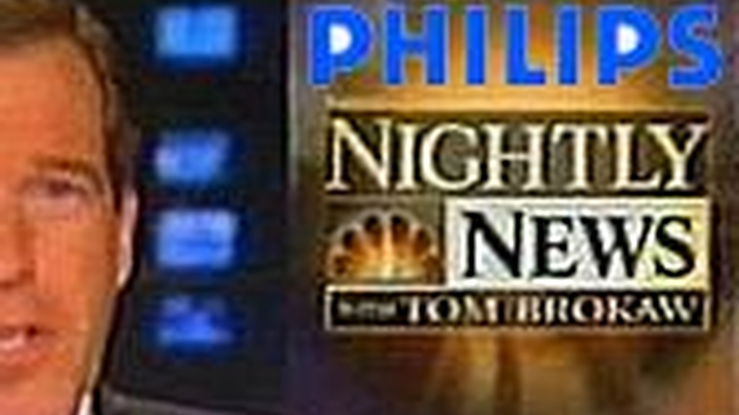 If you're old enough to remember Texaco Star Theater or the Schlitz Playhouse of Stars a few decades ago, you may have felt a sense of déjà vu last night if you were watching the NBC Nightly News...