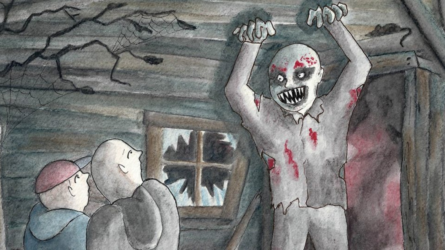 Getting into character and scaring people silly is one of Campbell Harmon's favorite things in life. But his relationship to being a monster goes deeper than playing one in a haunted attraction.