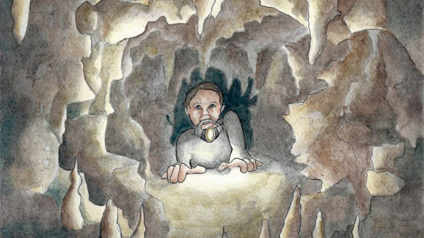 There is a cave in southern France that contains some of the world's most deeply hidden secrets. To get there you must crawl on your belly through a long tomb-like passage, with your only light held between your teeth.