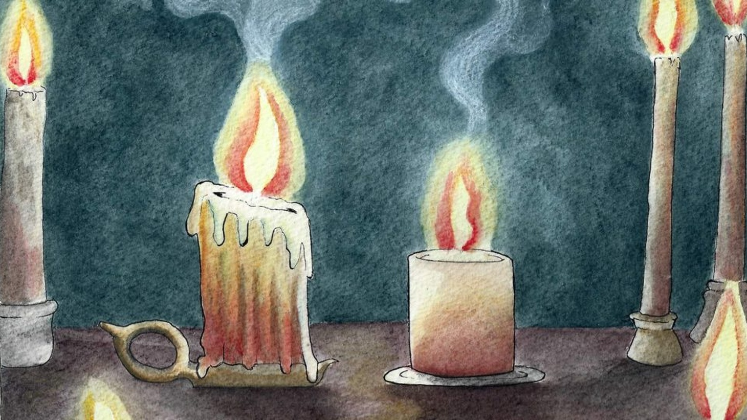Candles were a lifeline until they became merely ornamental. So, how do the candles feel about this?