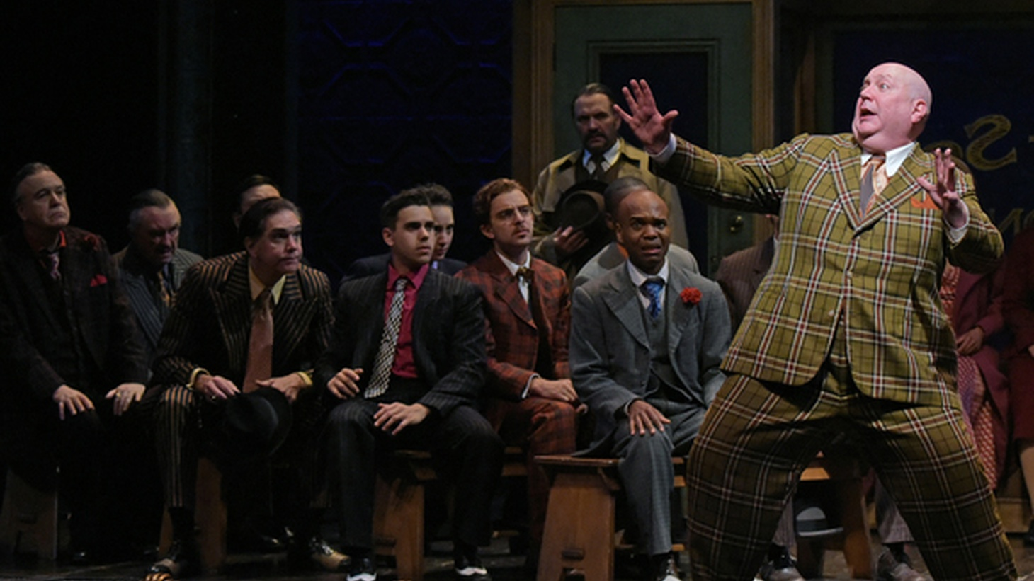 This may not be the best production of Guys & Dolls you'll ever see but it is the most approachable and heartfelt -- and that's perfect for a holiday show.