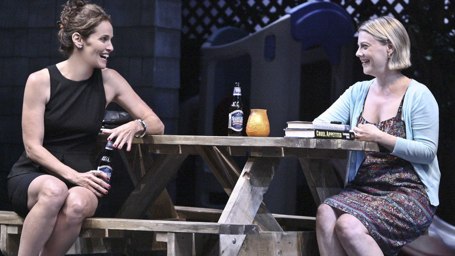 A feminist drama -- though not in the stereotypical sense -- but that all too rare species in the American Theater: a play driven by a cast of women written by a woman.
