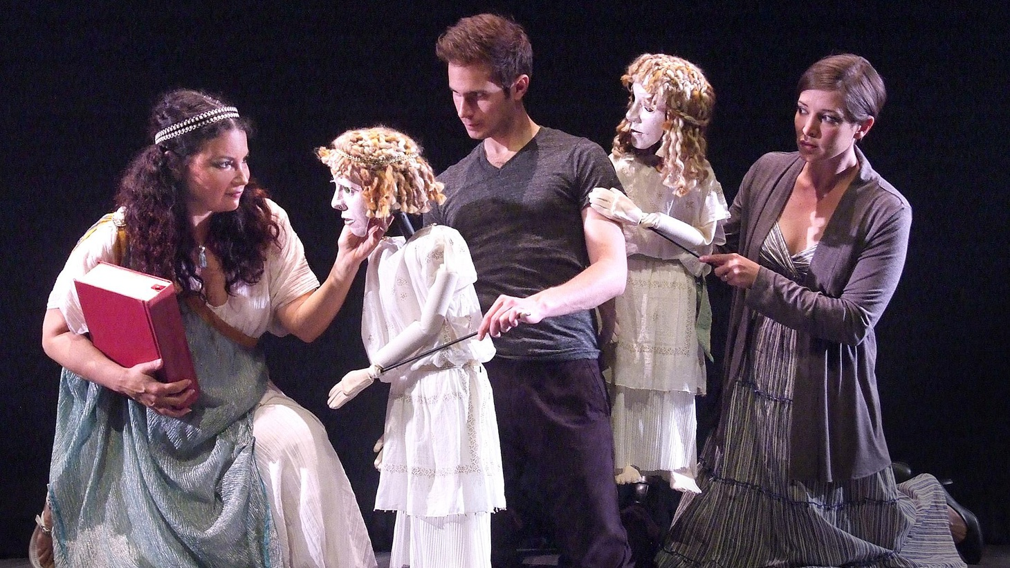 Anthony Byrnes on the production of Boston Court Theatre's production of Michael Elyanow's Medea, as told through the eyes of children...