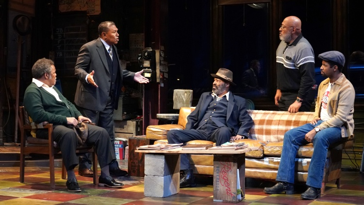 "I'm guessing the last thing you need is another ""to do"" on your holiday list…but I want you to add one more. You need to go see ""Jitney"" at the Mark Taper Forum."