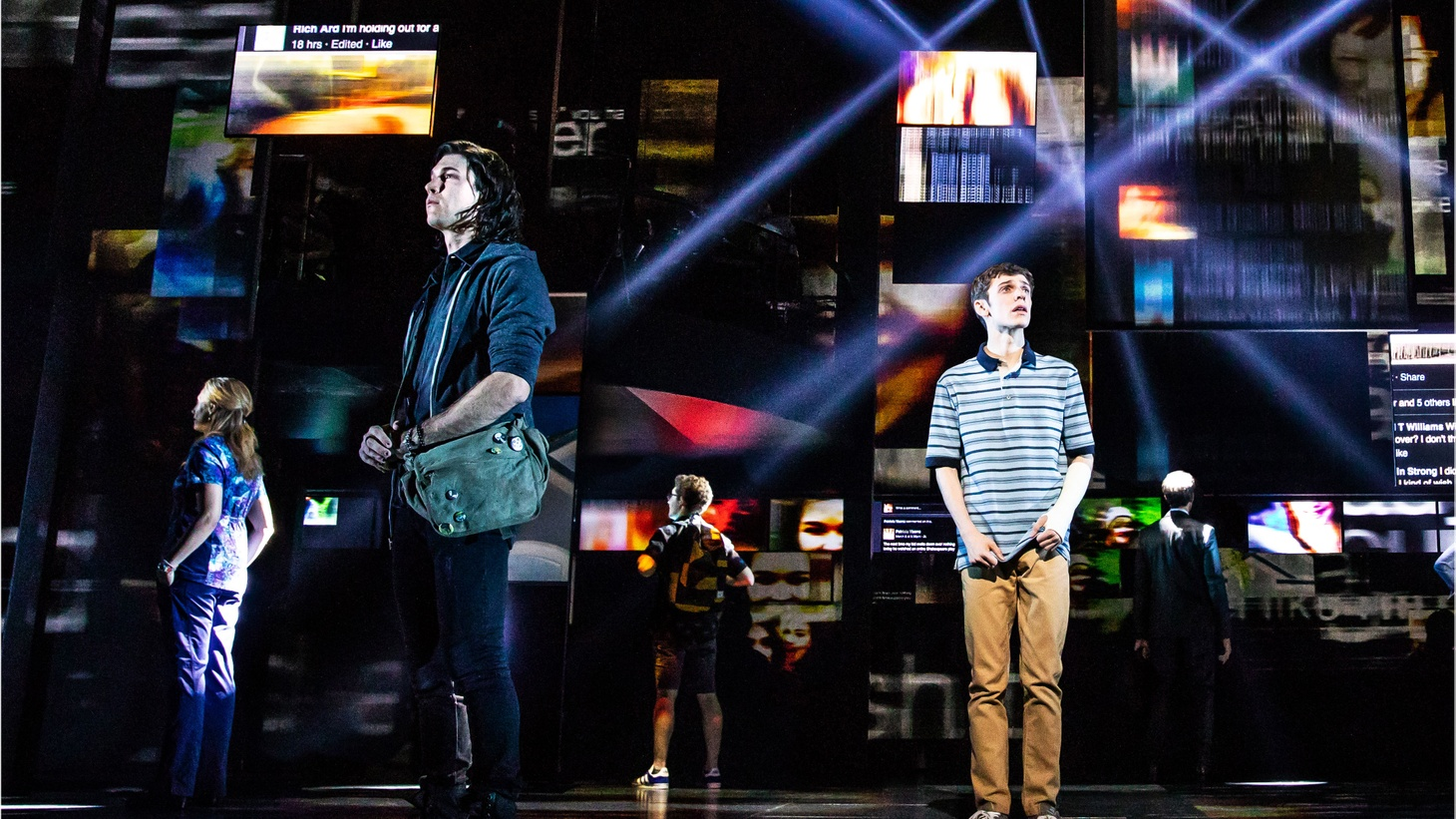 "Beyond the 6 Tony Awards and the record setting box office, what's fascinating about the musical ""Dear Evan Hansen"" is how it gets an audience to care."