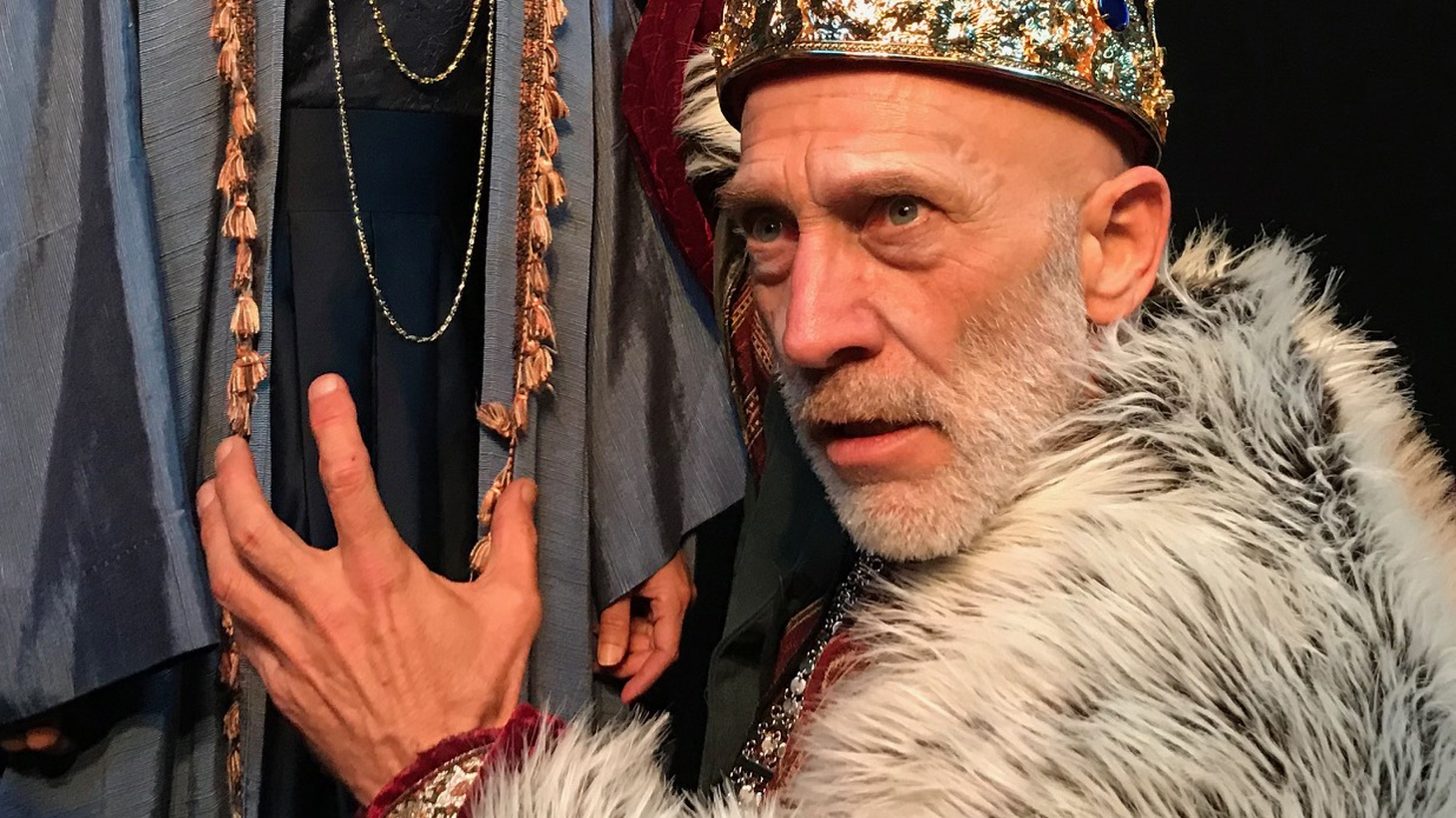 """There's something so absurdly ambitious about Zombie Joe's Underground production of """"King Lear"""" - you really want it to work."""