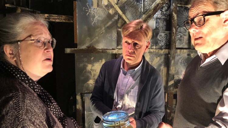 """""""Incognito"""" at the Son of Semele is a puzzle play."""