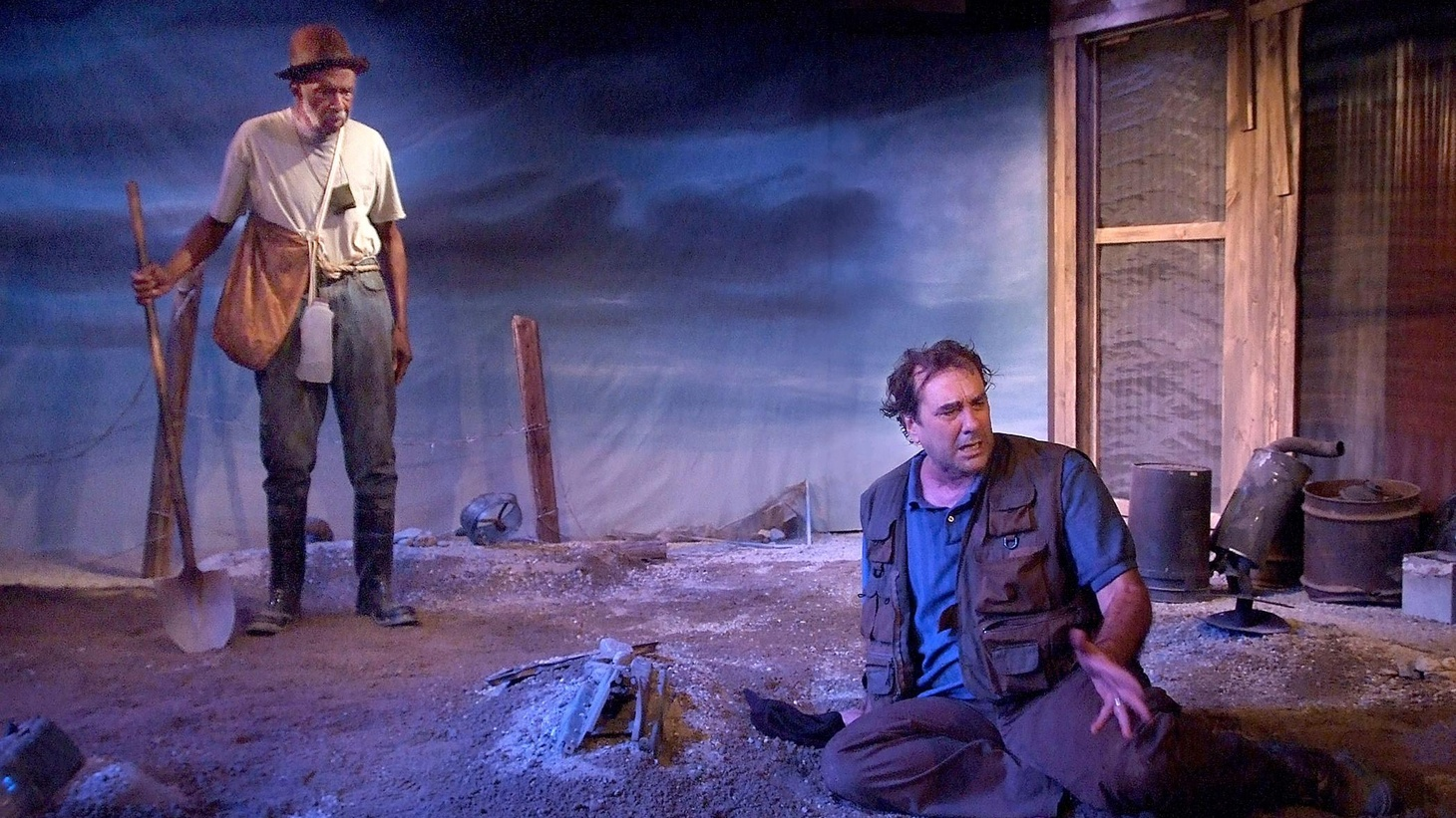 It's tricky. I'm realizing that my reviews end up having the same arc as the plays I see. Which makes this week tough because The Train Driver starts dark and stays there. Athol Fugard's latest work is based on a horrific true story...