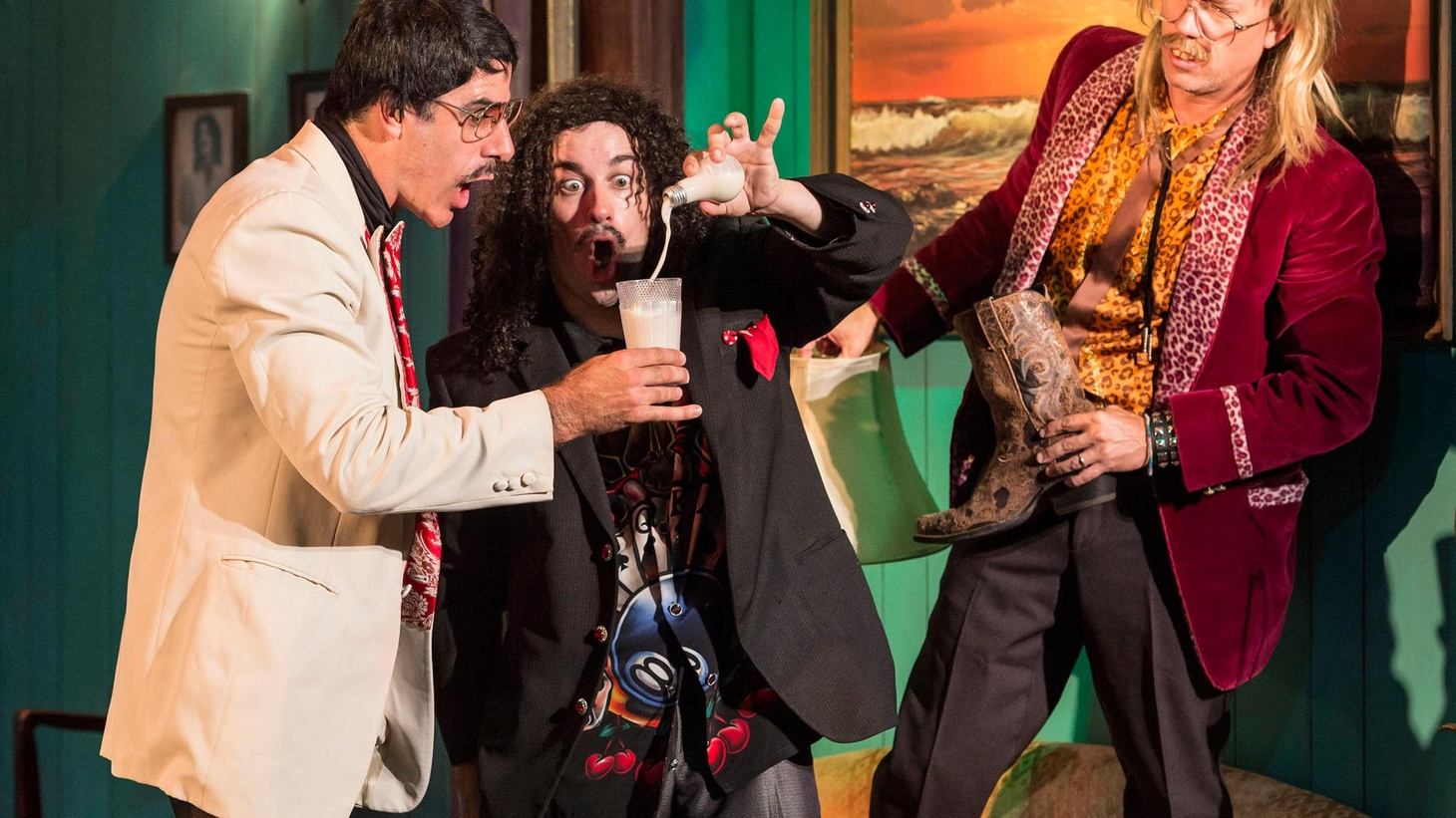 Anthony Byrnes on a hipster magic show at the Kirk Douglas Theater that answers the age old question, what do you get when you mix grape Kool-Aid with the Dalai Lama.