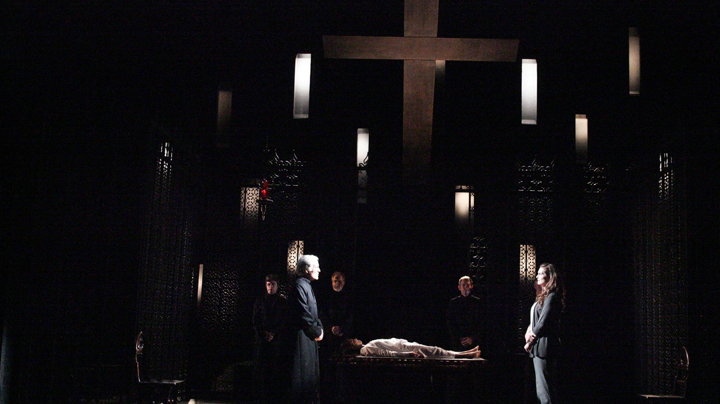 "Anthony Byrnes on the theater version of ""The Exorcist,"" currently up at the Geffen Playhouse."