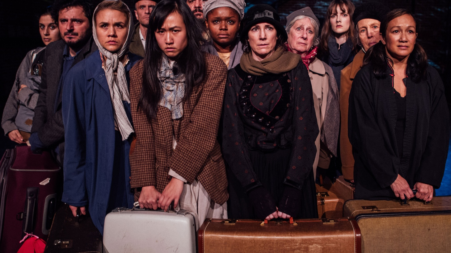 There's a lot of this 'witnessing' happening in the theater right now. Our political climate has theater makers anxious to do something, say something, to protest in some way. The challenge is–when you're preaching to the choir, what do you say?