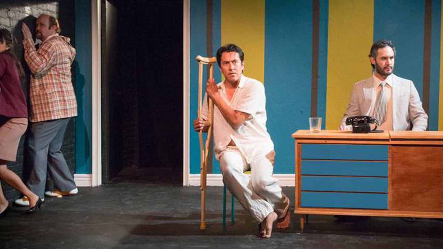 """If you're a fan of the formally daring and witty, you need to see Theatre Movement Bazaar's riff on Tennessee Williams' """"Cat on a Hot Tin Roof."""""""