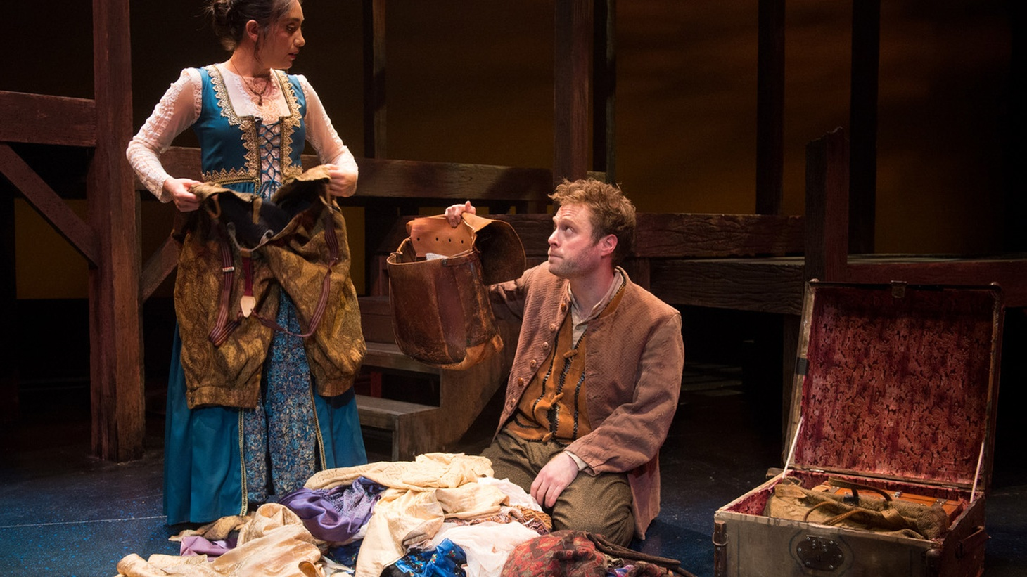 """What if """"The Merchant of Venice"""" were told from Shylock's daughter's perspective? That's the conceit behind Sarah Mantell's play """"Everything that never happened""""."""