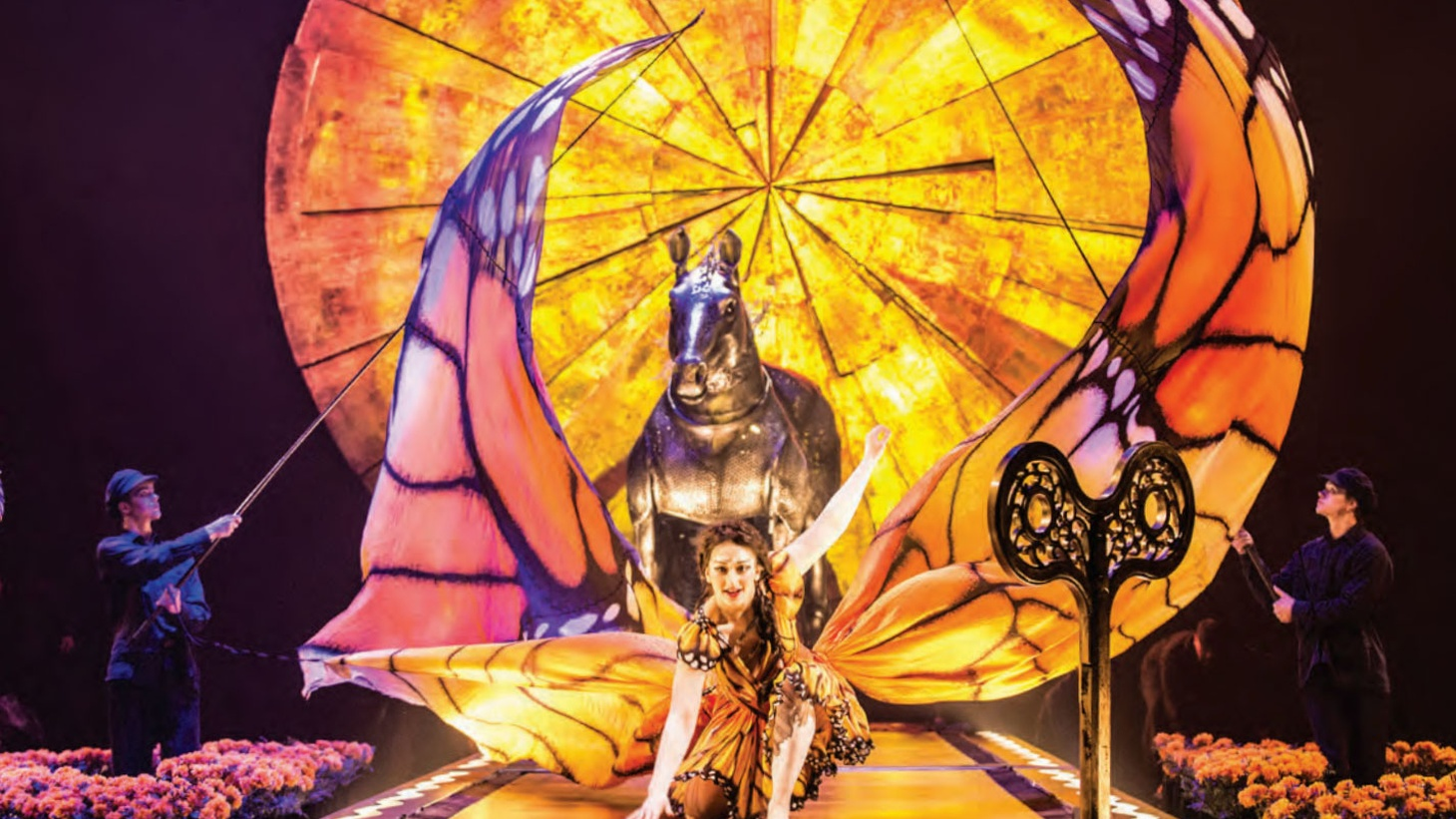 If you're looking for some theatrical spectacle for the whole family over the holidays, my pick is Cirque Du Soleil's latest Luzia.