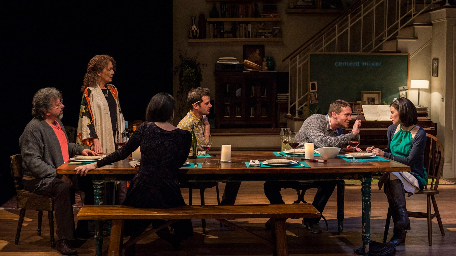 """Tribes"" is a complicated play about language, meaning, listening and deafness whose tragedy is one of unrealized promise, of not taking the next step in the conversation."