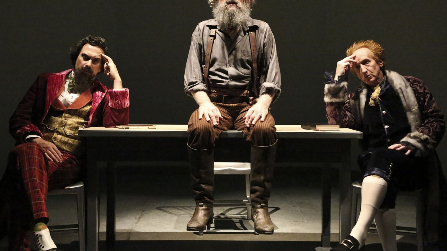 """Writing is hard. Now, I wish I could say I learned that from watching Scott Carter's play """"The Gospel According to Thomas Jefferson, Charles Dickens and Count Leo Tolstoy: Discord"""" at the Geffen. Truth is I learned writing is hard by enduring it."""