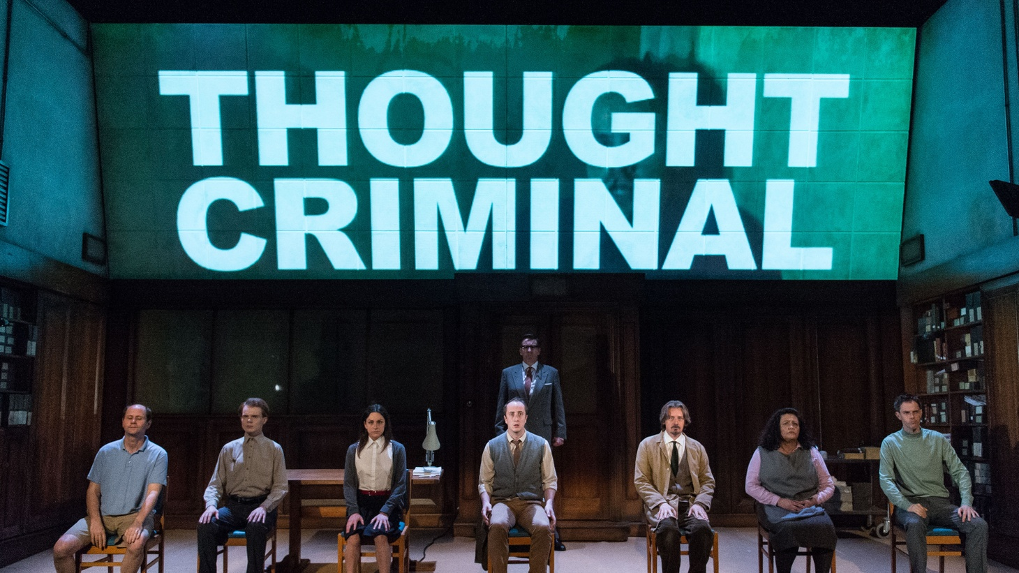 Britain's Headlong Theatre Company turns George Orwell's dystopian novel into a stunning theatrical production. But it might move your mind more than your heart.